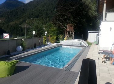 Schwimmbad in Pians